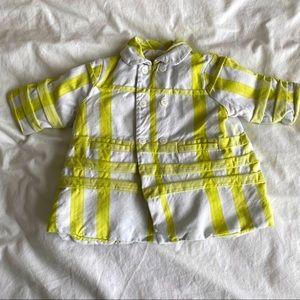 Coat fleeced Burberry 3 / 6 months yellow